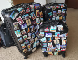 DIY Luggage Travel Stickers