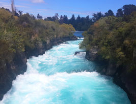 Huka Falls @Taupo, New Zealand