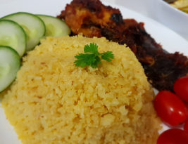 #Recipe ~ Menu sihat: Cauliflower rice (nasi bunga kobis)