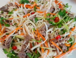 #Recipe ~ Noodle Beef Salad
