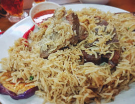 The best maqloubeh lamb in Cyberjaya