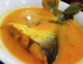 Lagi patin Sg. Pahang masak tempoyak sedap di Cyberjaya