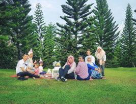 Picnic Birthday Party @Taman Saujana Hijau, Putrajaya