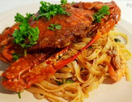 Recipe ~ Crab & Seafood Fettuccine