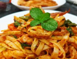 #Recipe ~ Seafood Fettuccine