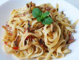 #Recipe ~ Fettuccine goreng ala kampung