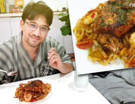 Vlog#188: Salmon & Seafood Pasta
