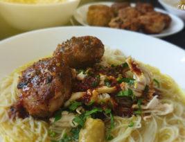 Soto Ayam & Begedil Daging
